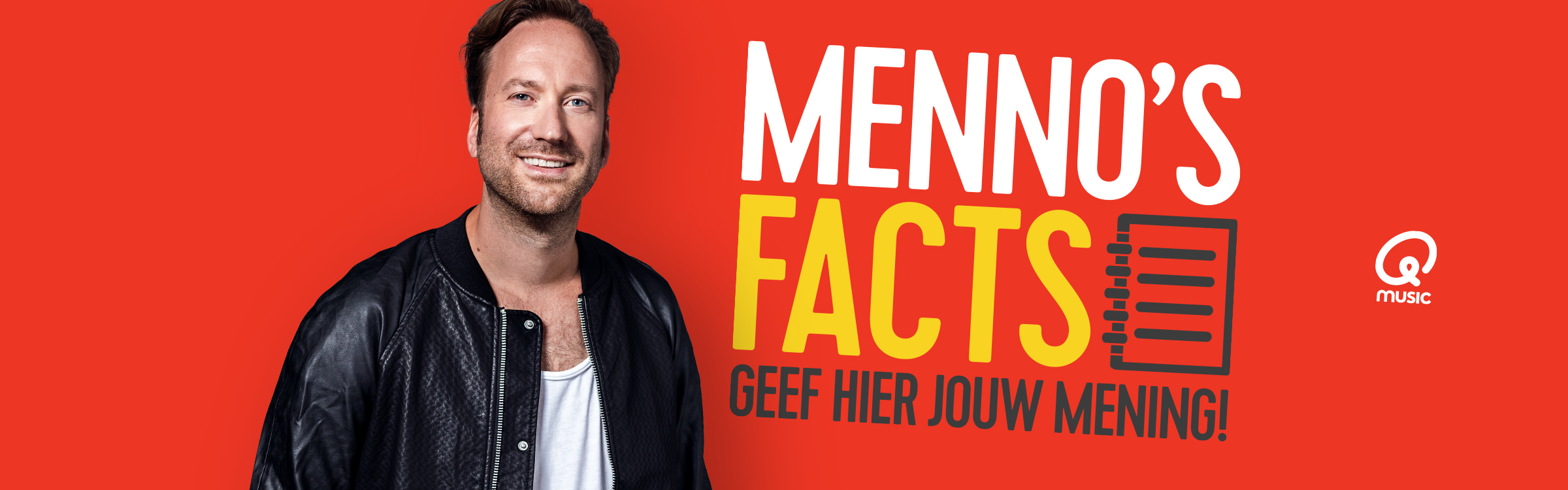 Qmusic actionheader mennosfacts17