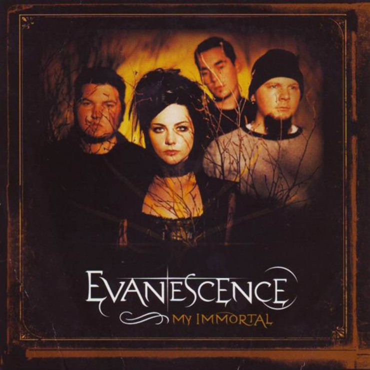 Evanescence my immortal  28cd single 29 frontal