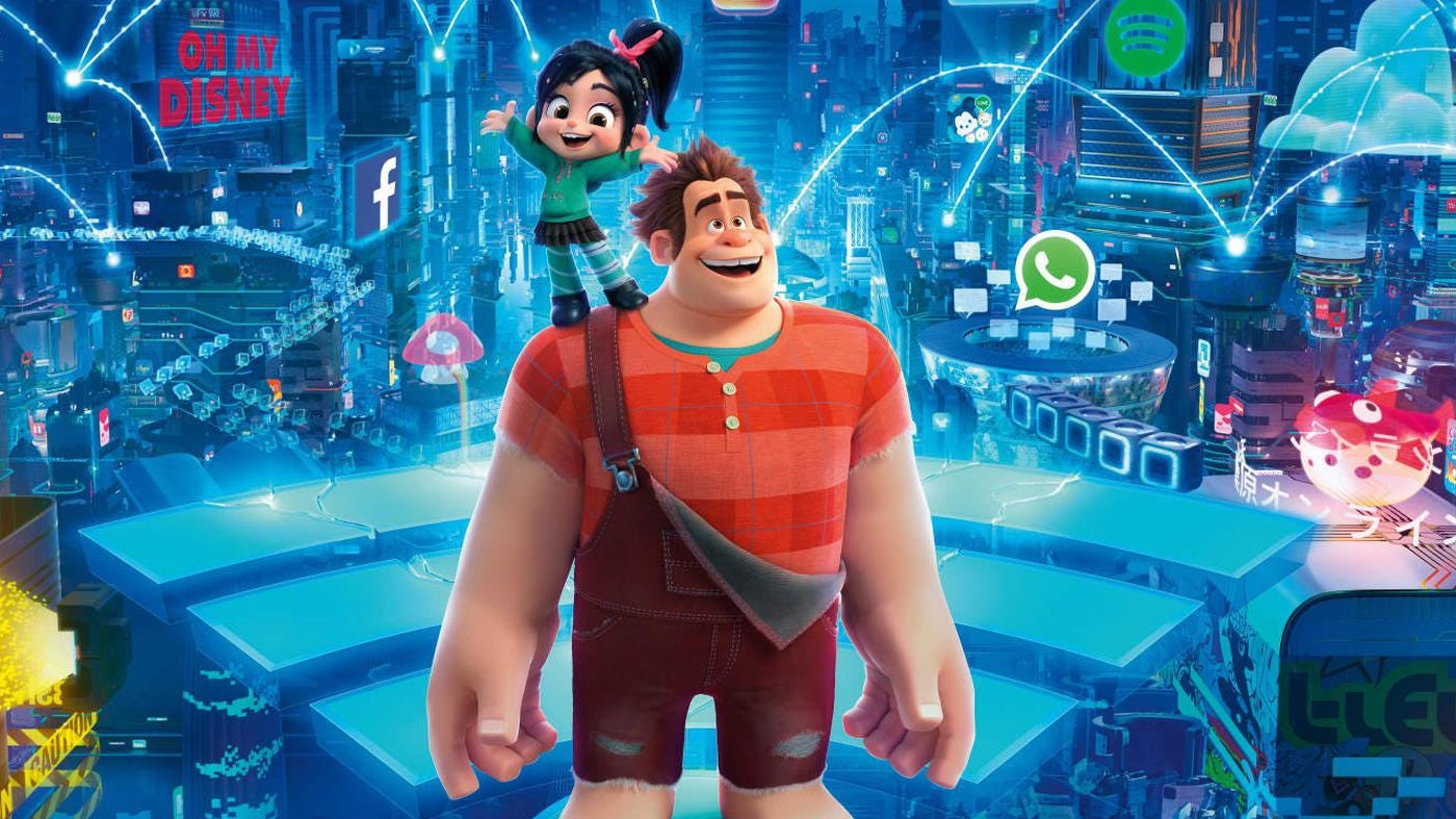 Ralph breaks the internet movie review  1