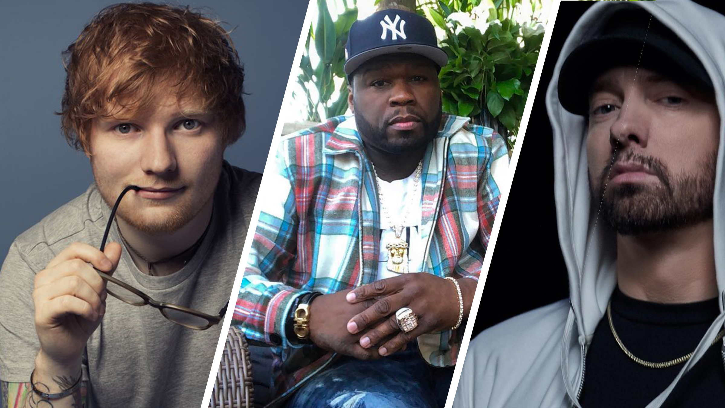 Ed sheeran eminem 50cent