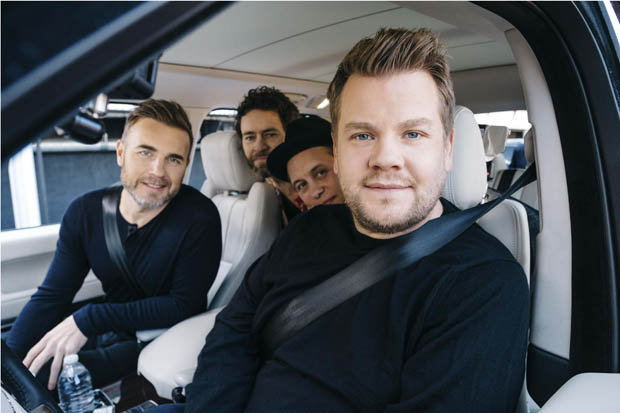 James corden bbc comic relief take that carpool karaoke 596371