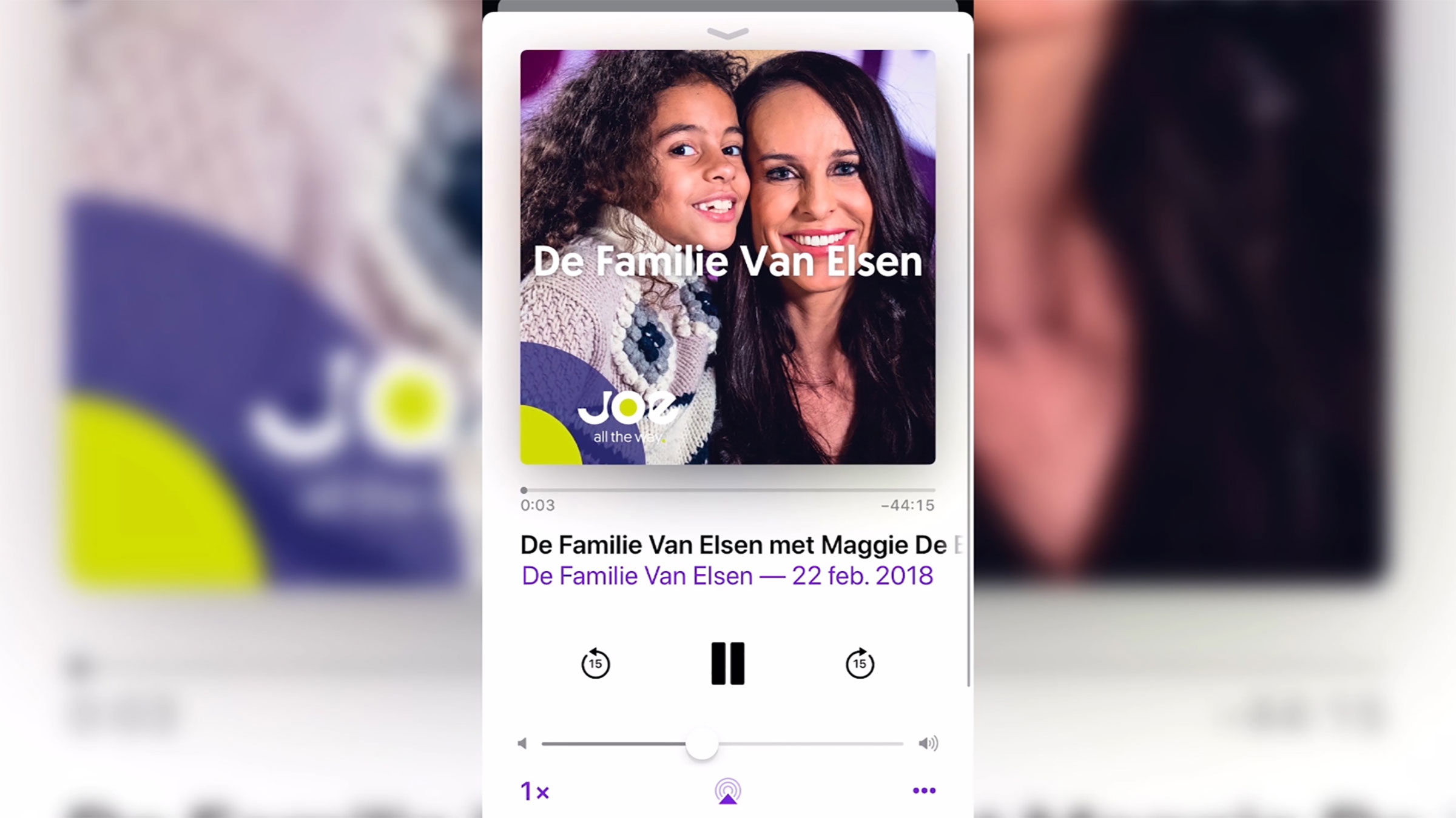 Familie podcast home