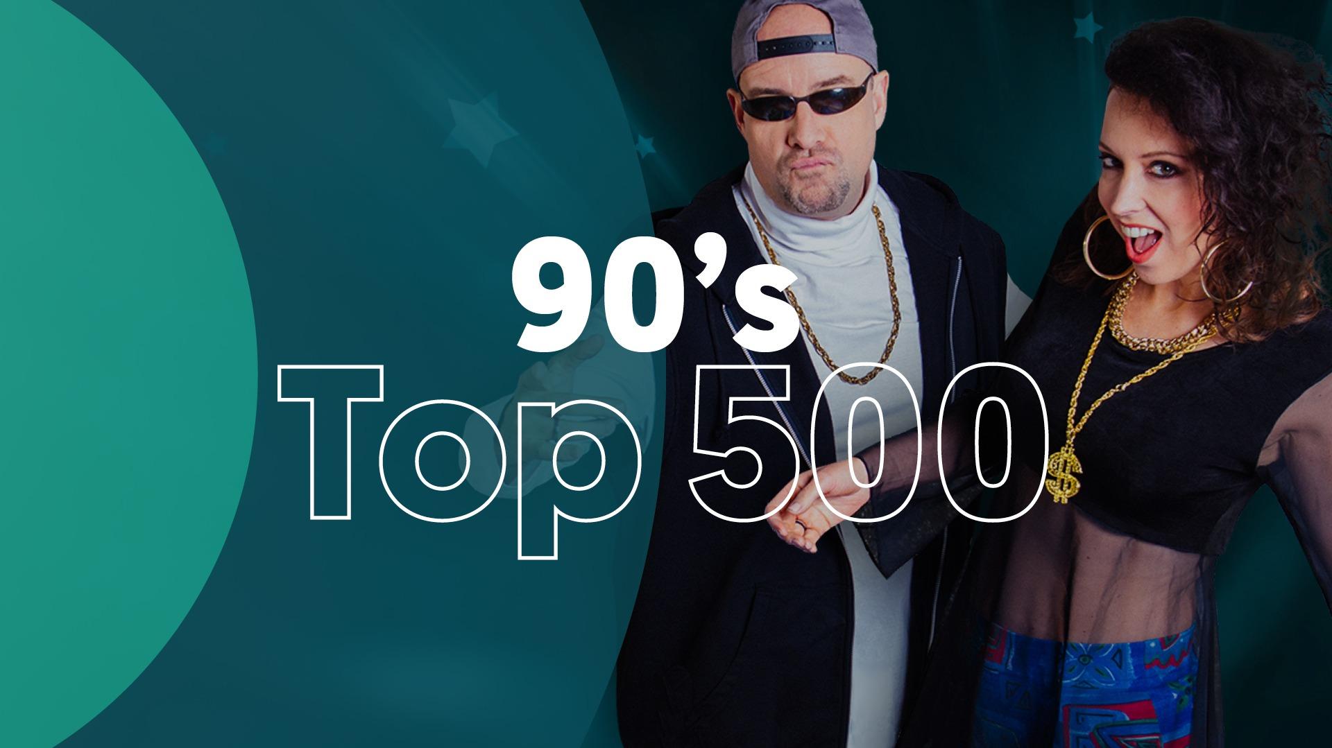 Hitlijst top 500 90s 2