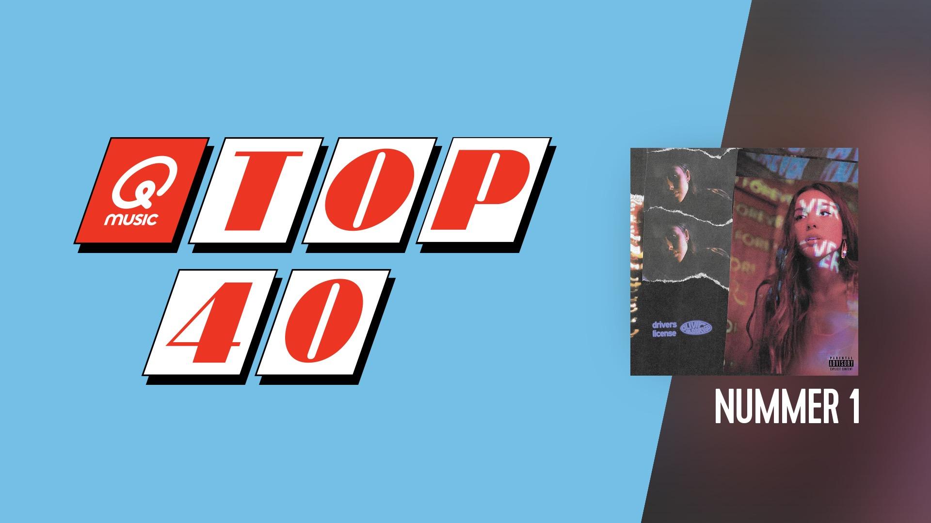 Top 40 website header