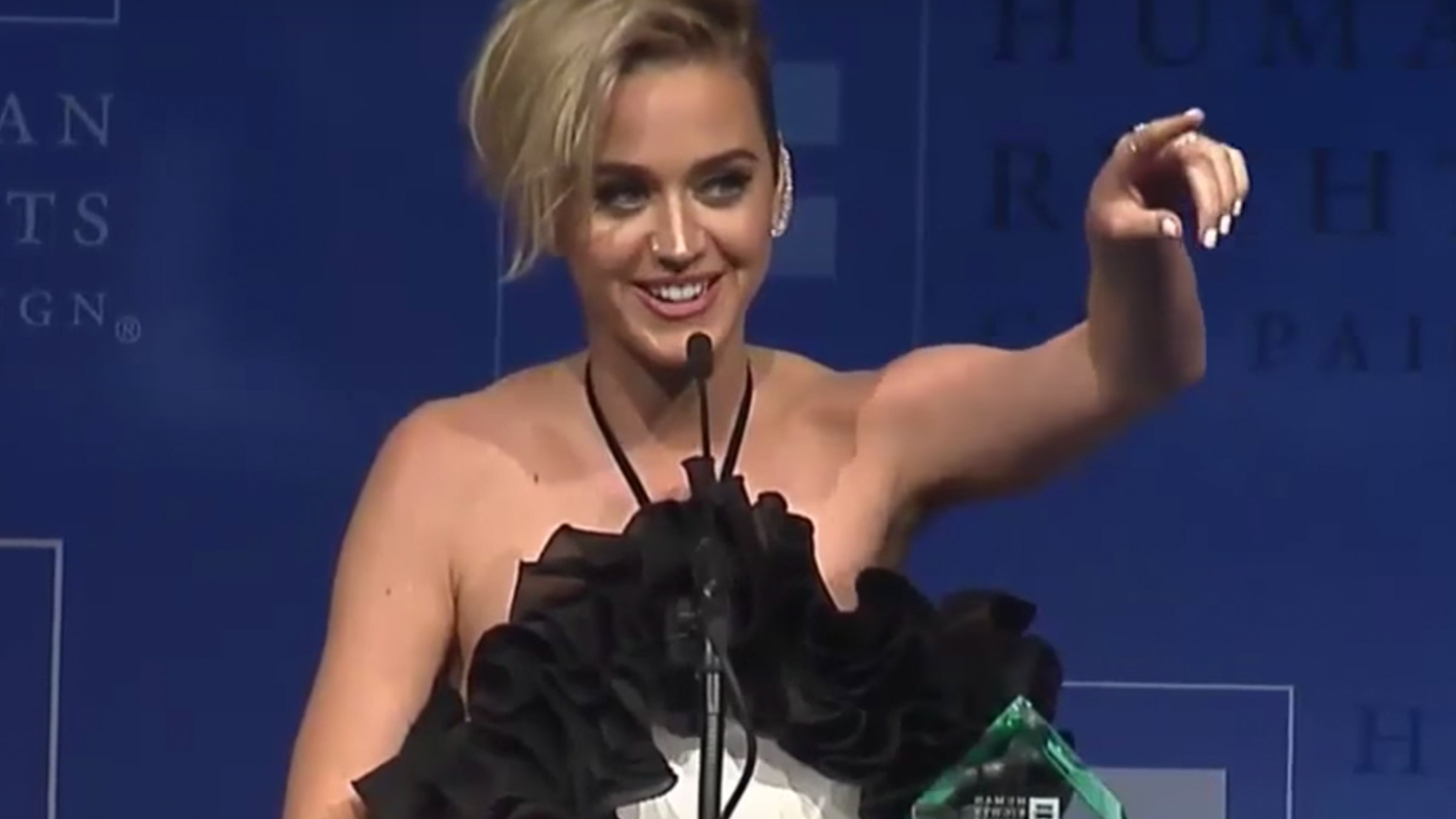 Teaser katy perry award