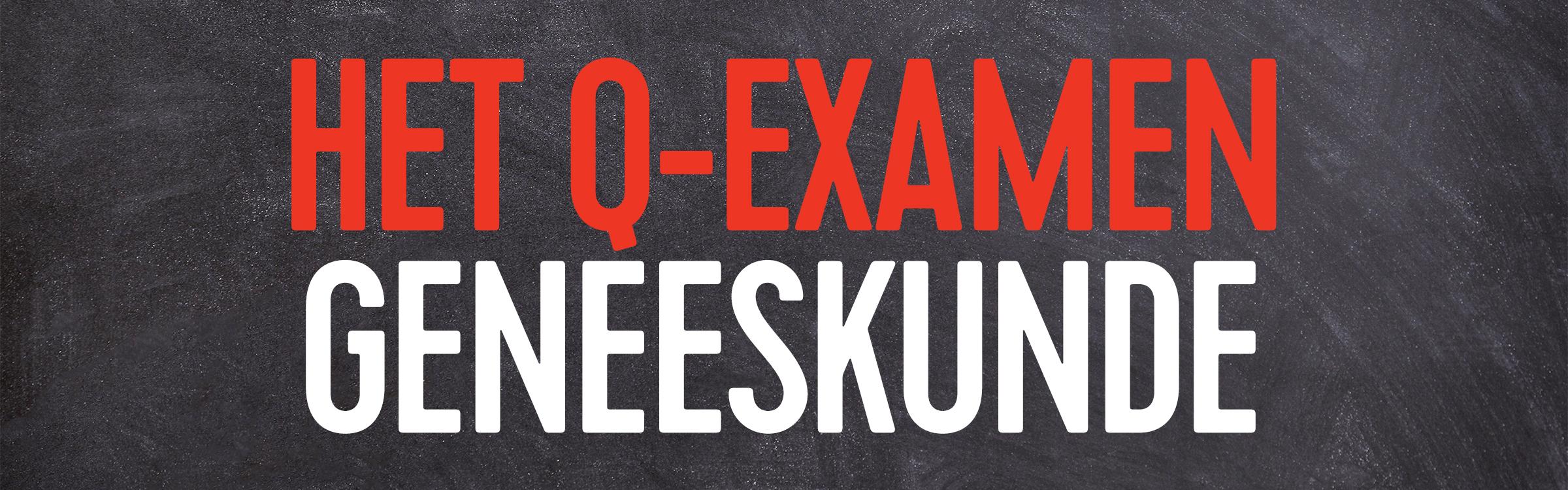 Q examen geneeskunde header