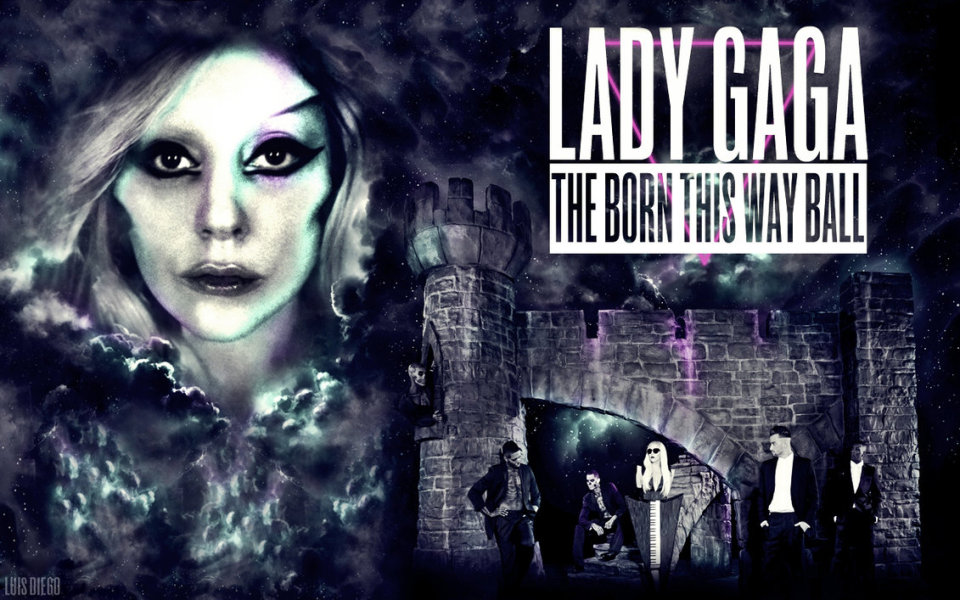 Theborn this way ball wallpaper by luiisdiego d4zhf3e