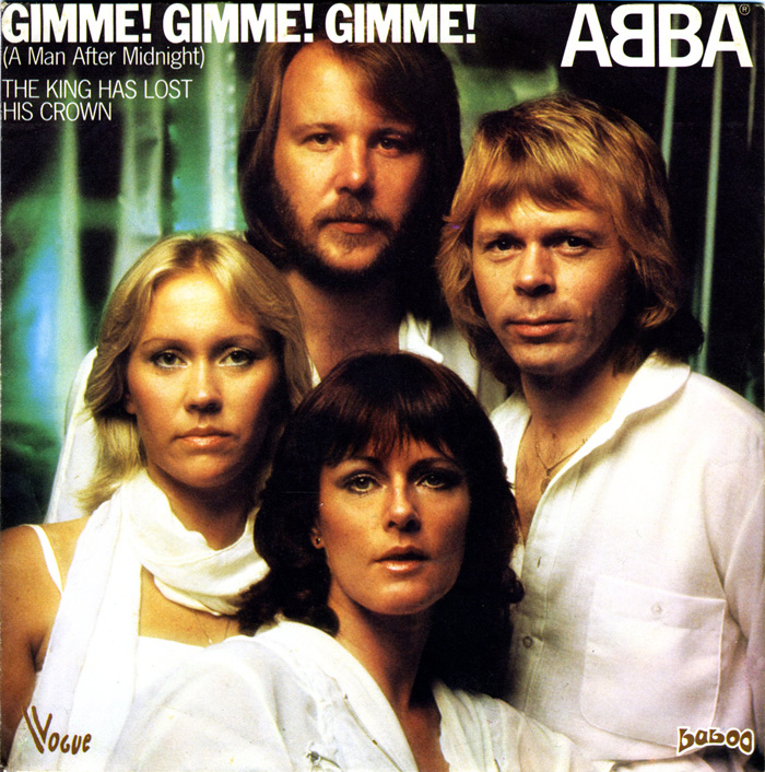 Abba gimme gimme gimme a man after midnight vogue