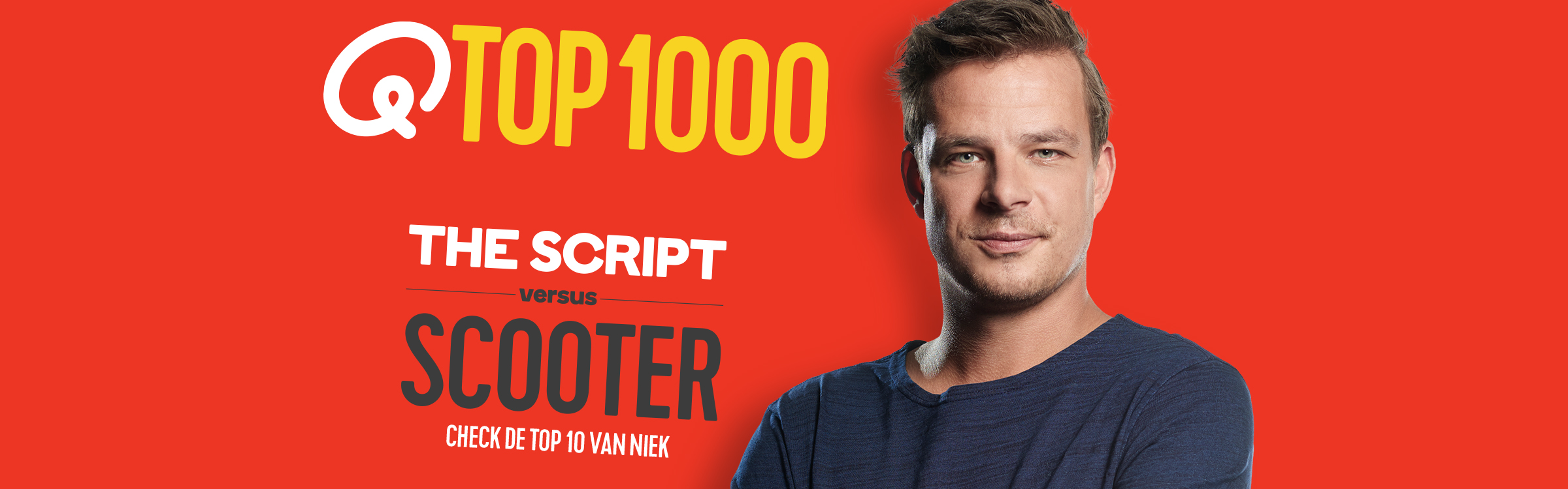 Qmusic actionheader top1000 djs niek