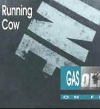 Running cow