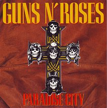 Guns n roses paradise city geffen s