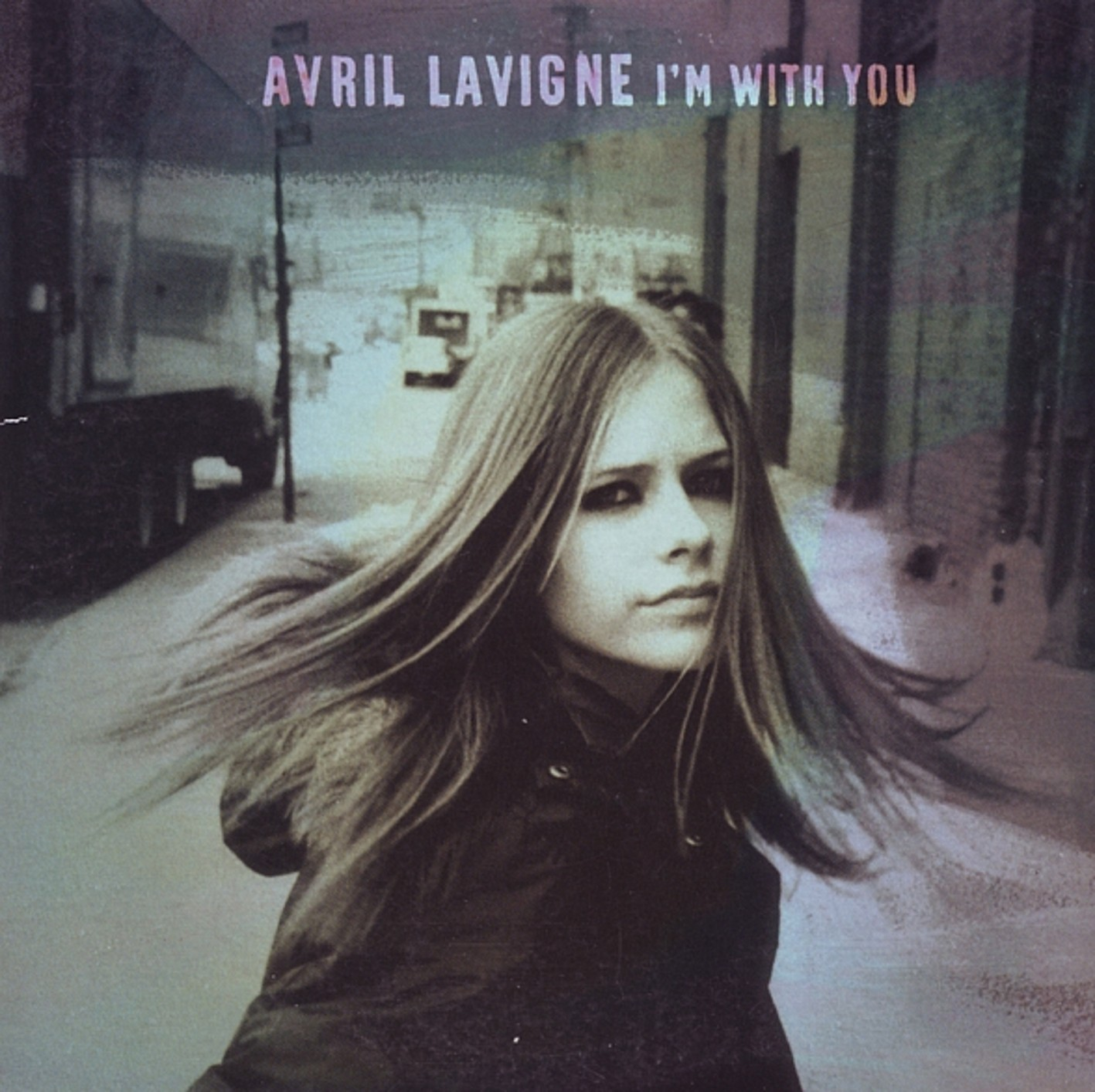 Avril lavigne   i m with you   front