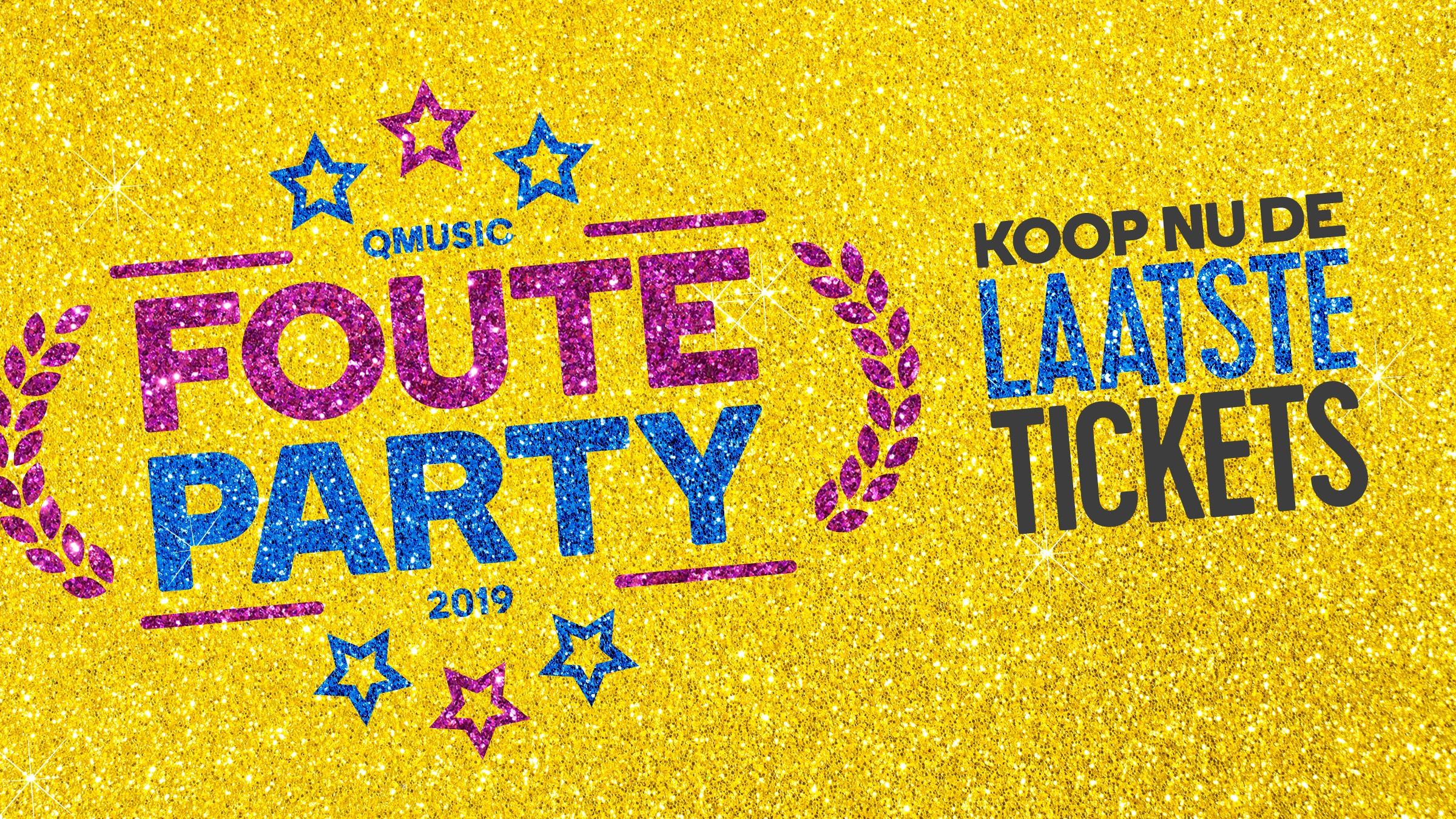 Qmusic teaser fouteparty2019 laatste