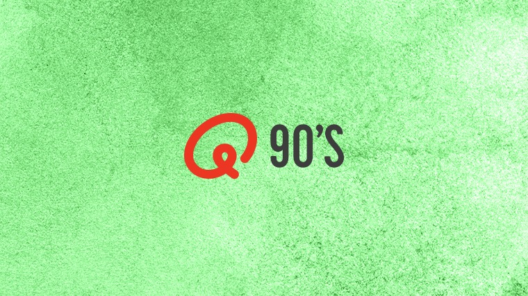 Qmusic webplayers cover 90s
