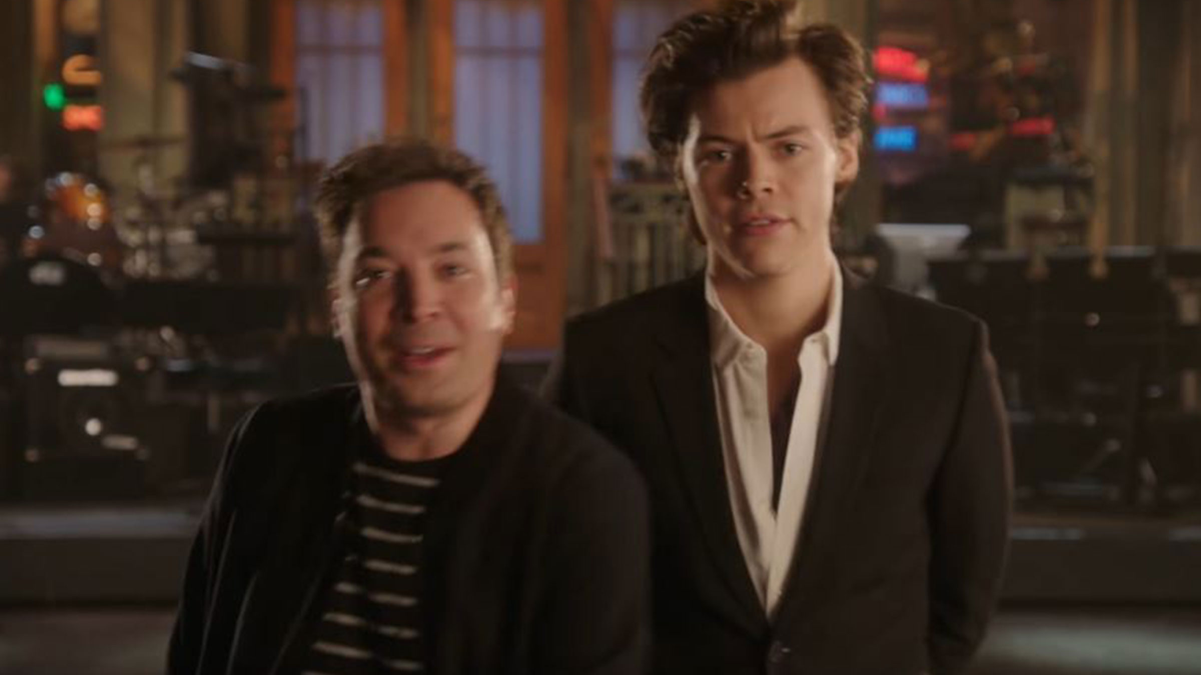 Harry styles jimmy fallon home