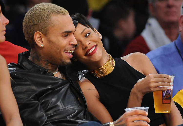 Rihanna chris brown laker3 kopie