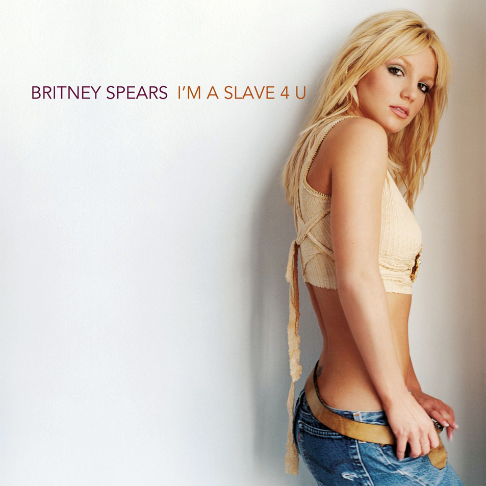 Britney spears i m a slave 4 u  cd single  frontal