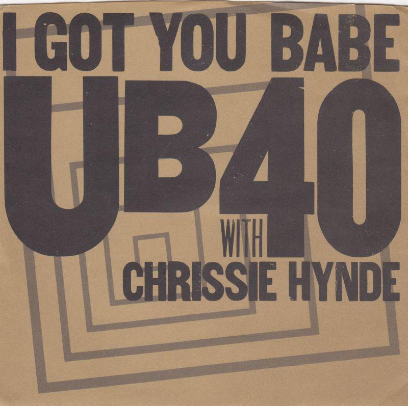 Ub40 with chrissie hynde i got you babe am