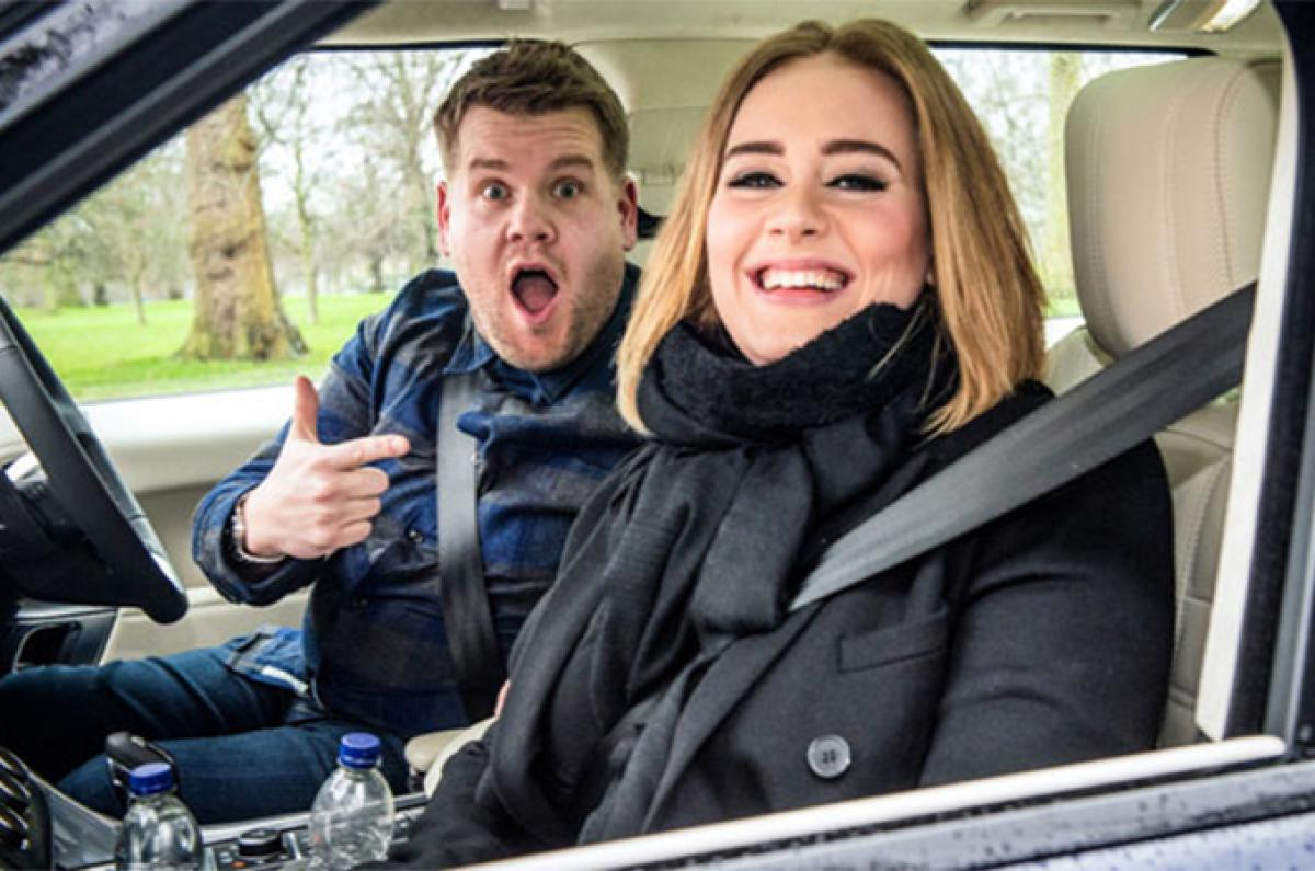 Adele james corden carpoolkaraoke