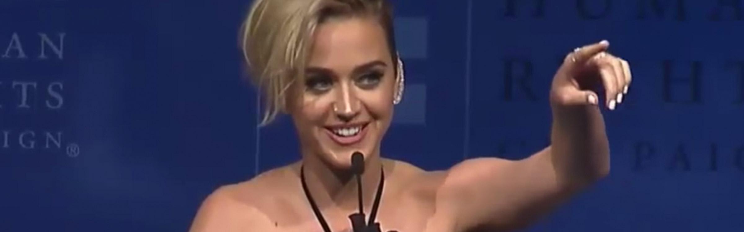 Katy perry award teaser