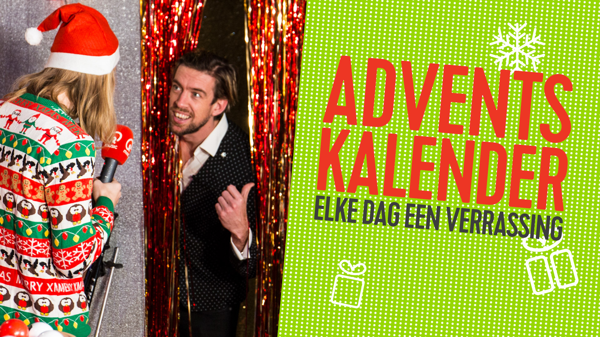 Qmusic teaser adventkalender