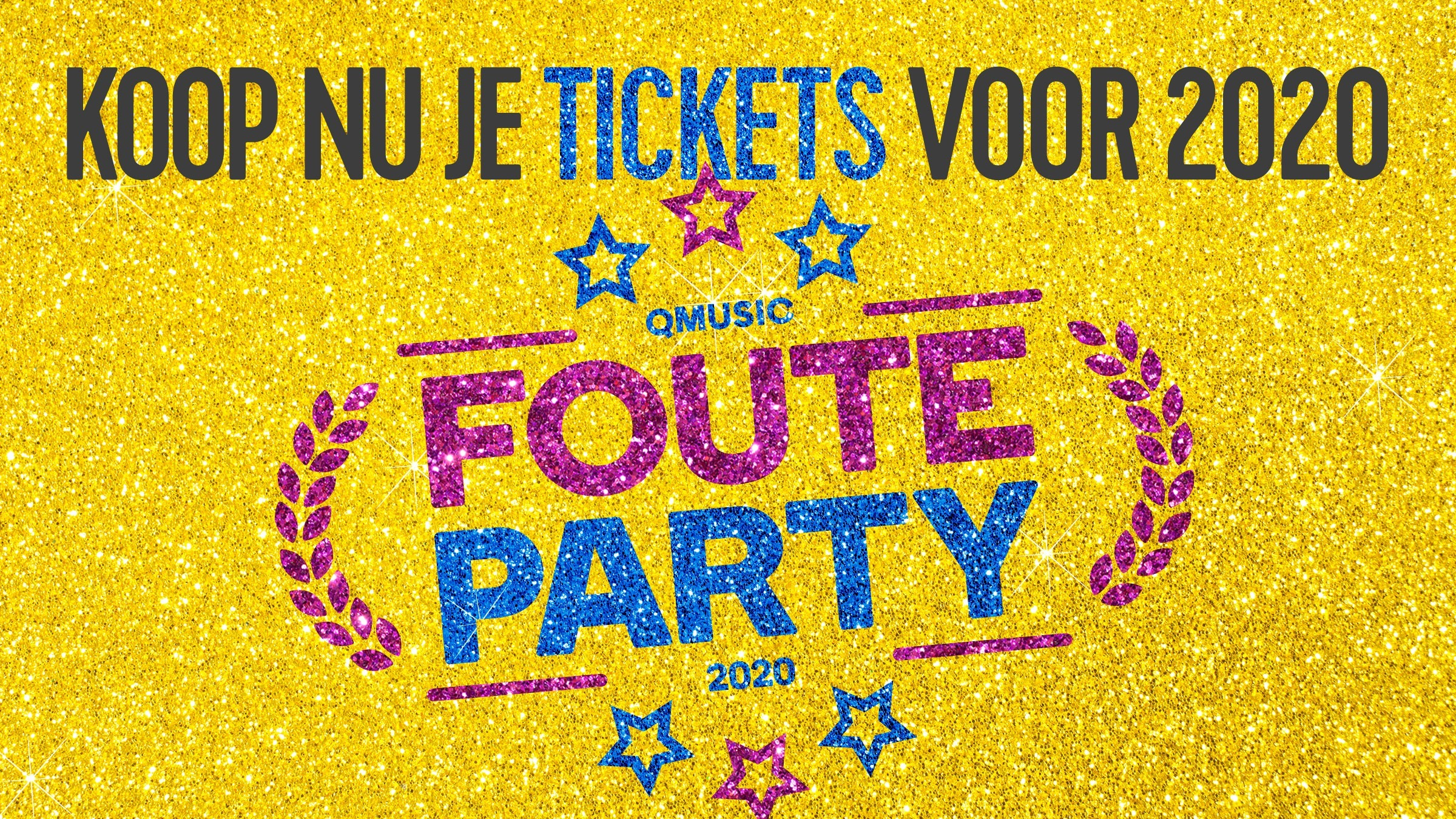 Qmusic teaser fouteparty2020 tickets