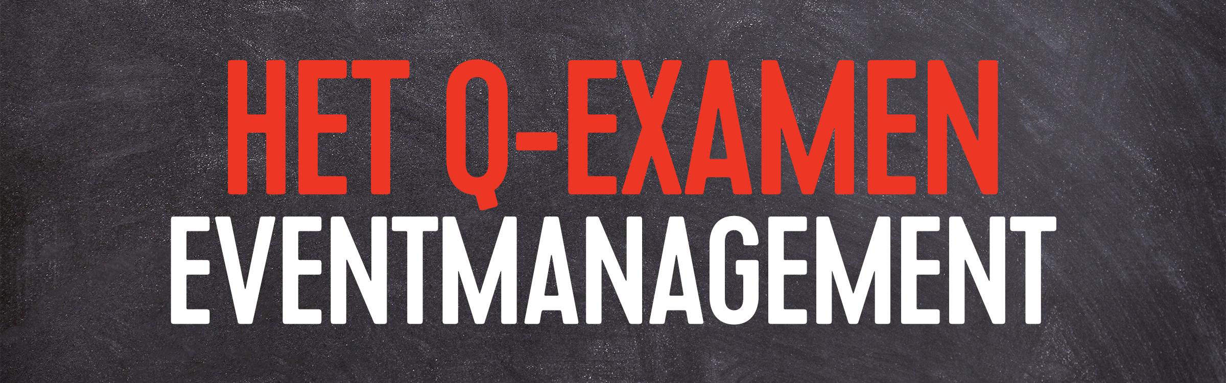 Q examen event header