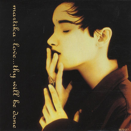 Martika love thy will be done vinyl clock sleeve 90s