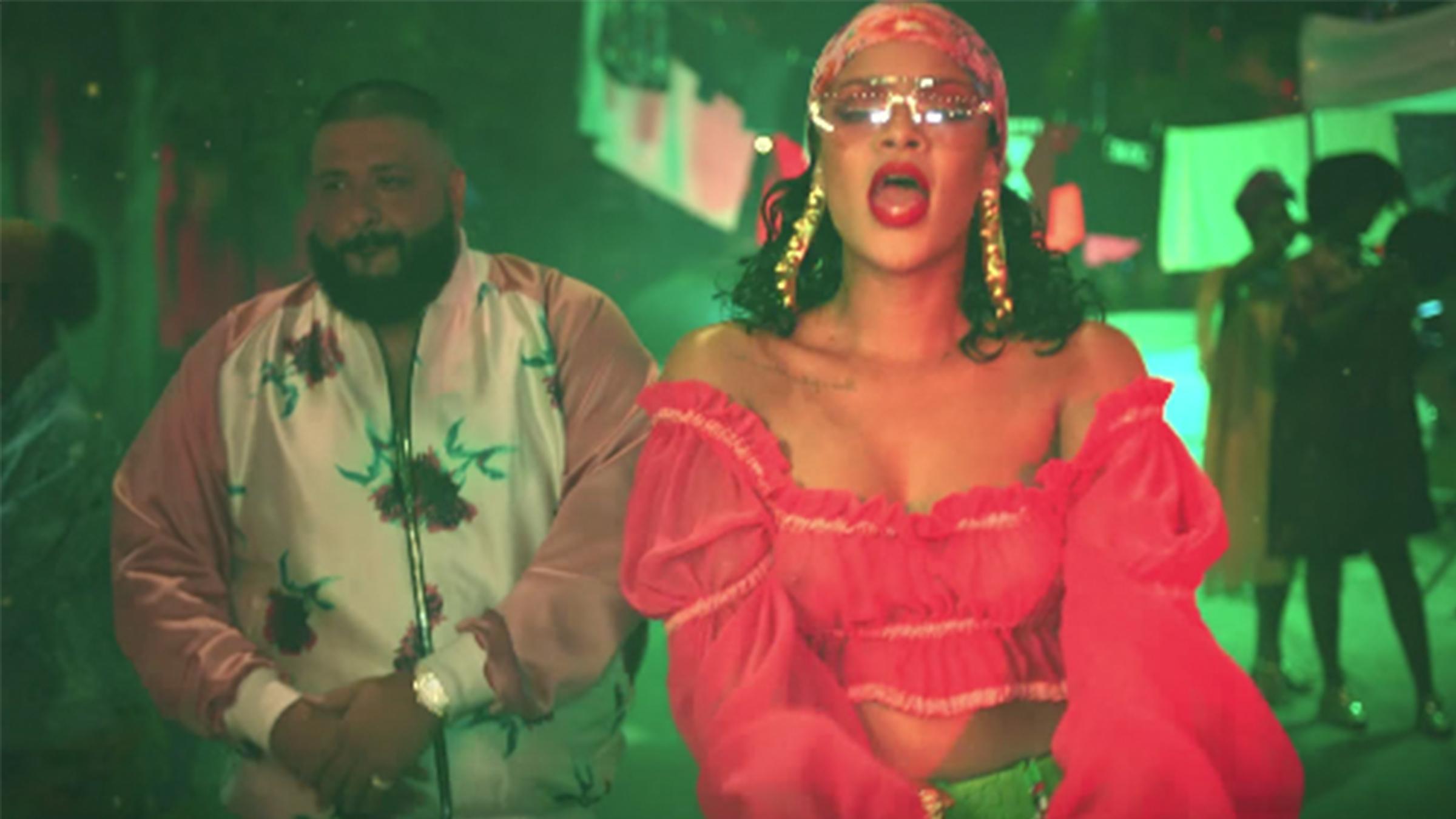 Rihanna khaled tease