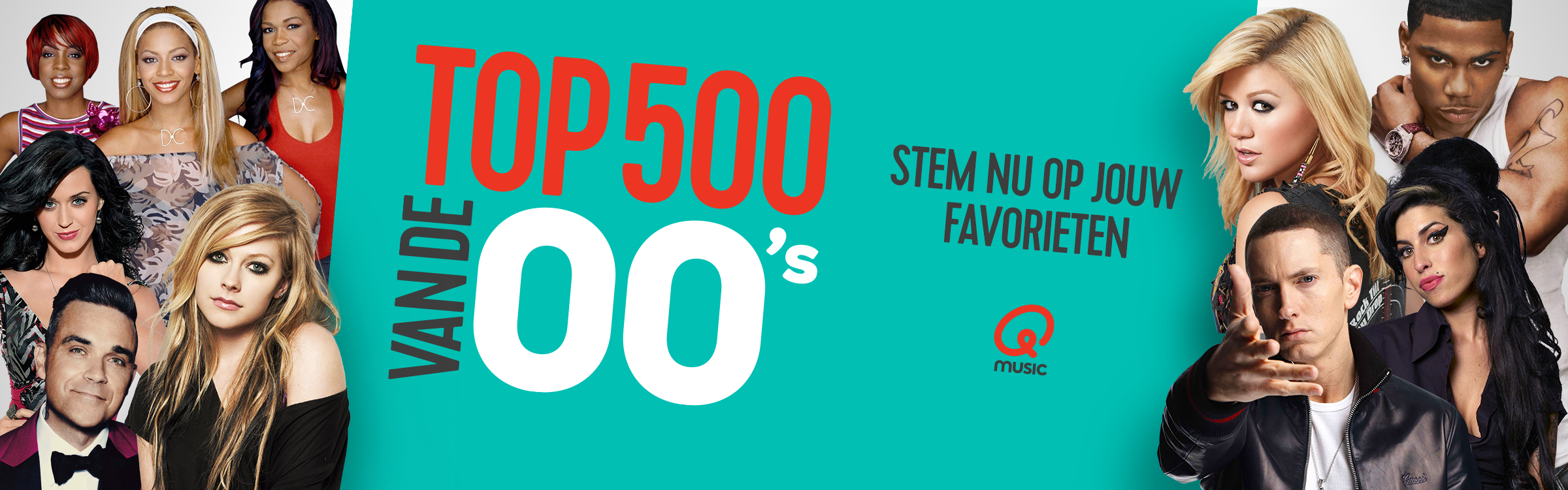 Qmusic actionheader top500 00s