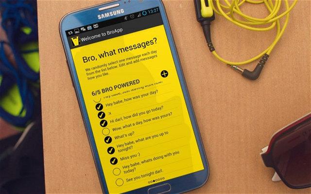 Broapp automatic girlfriend texter