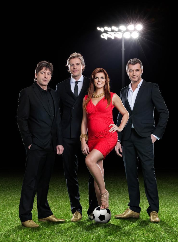 De gouden schoen 2012 groepsfoto