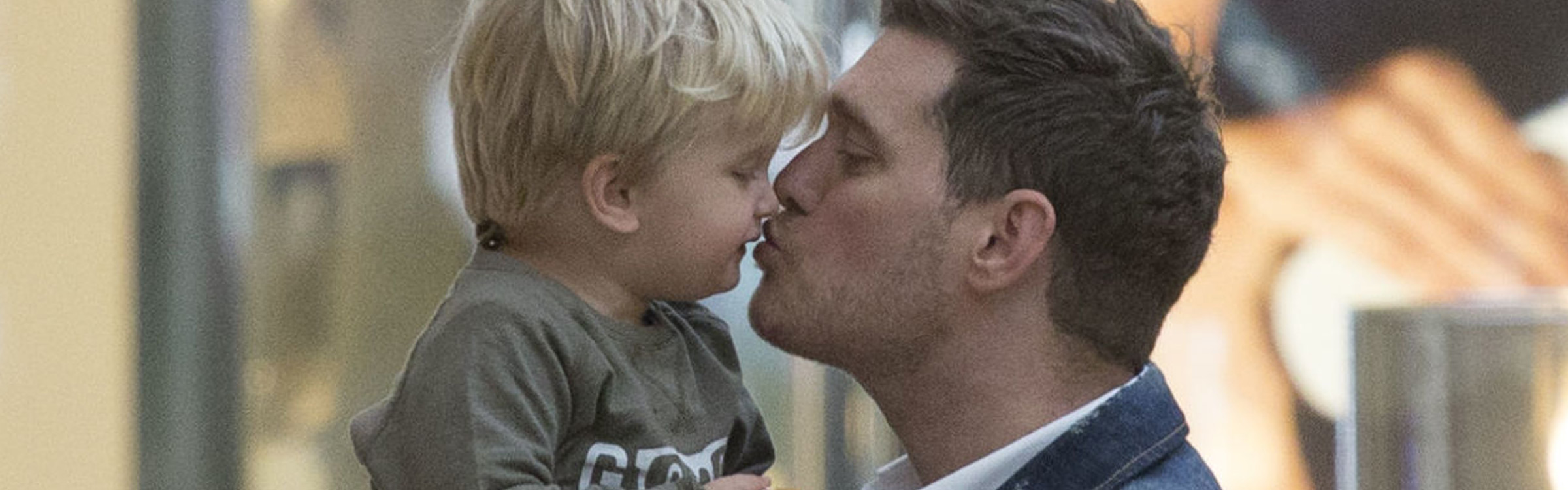 Buble zoontje header
