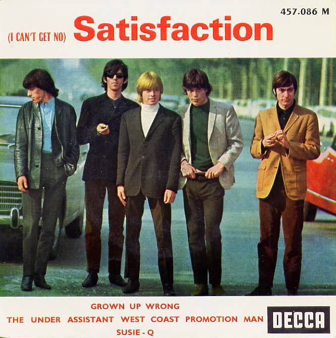 Rollingstones satisfaction ep