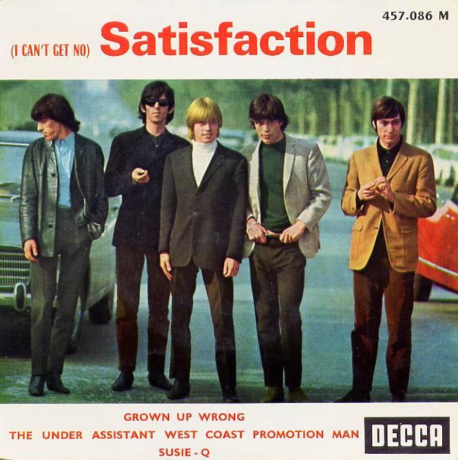 Rollingstones satisfaction ep