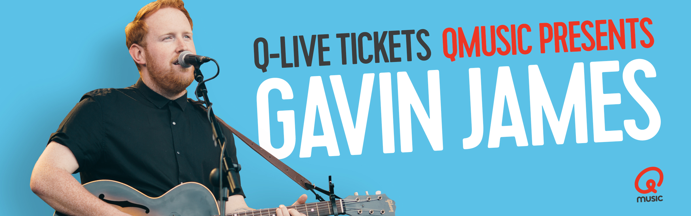 Qmusic actionheader gavin