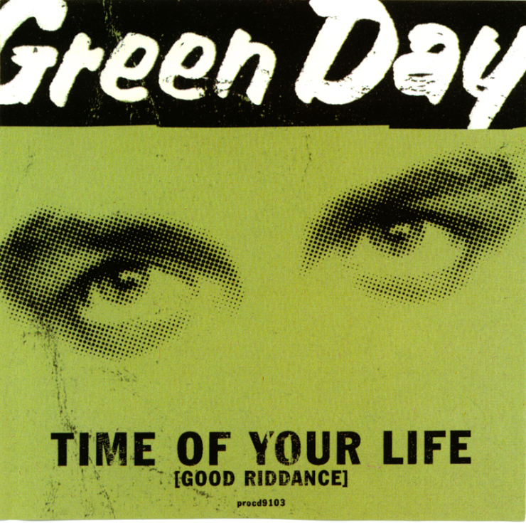 Green+day+ +time+of+your+life+ good+riddance + + promo+cd+single + +1997+ + front+scan+lr