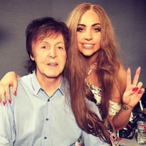 Showbiz paul mcartney lady gaga
