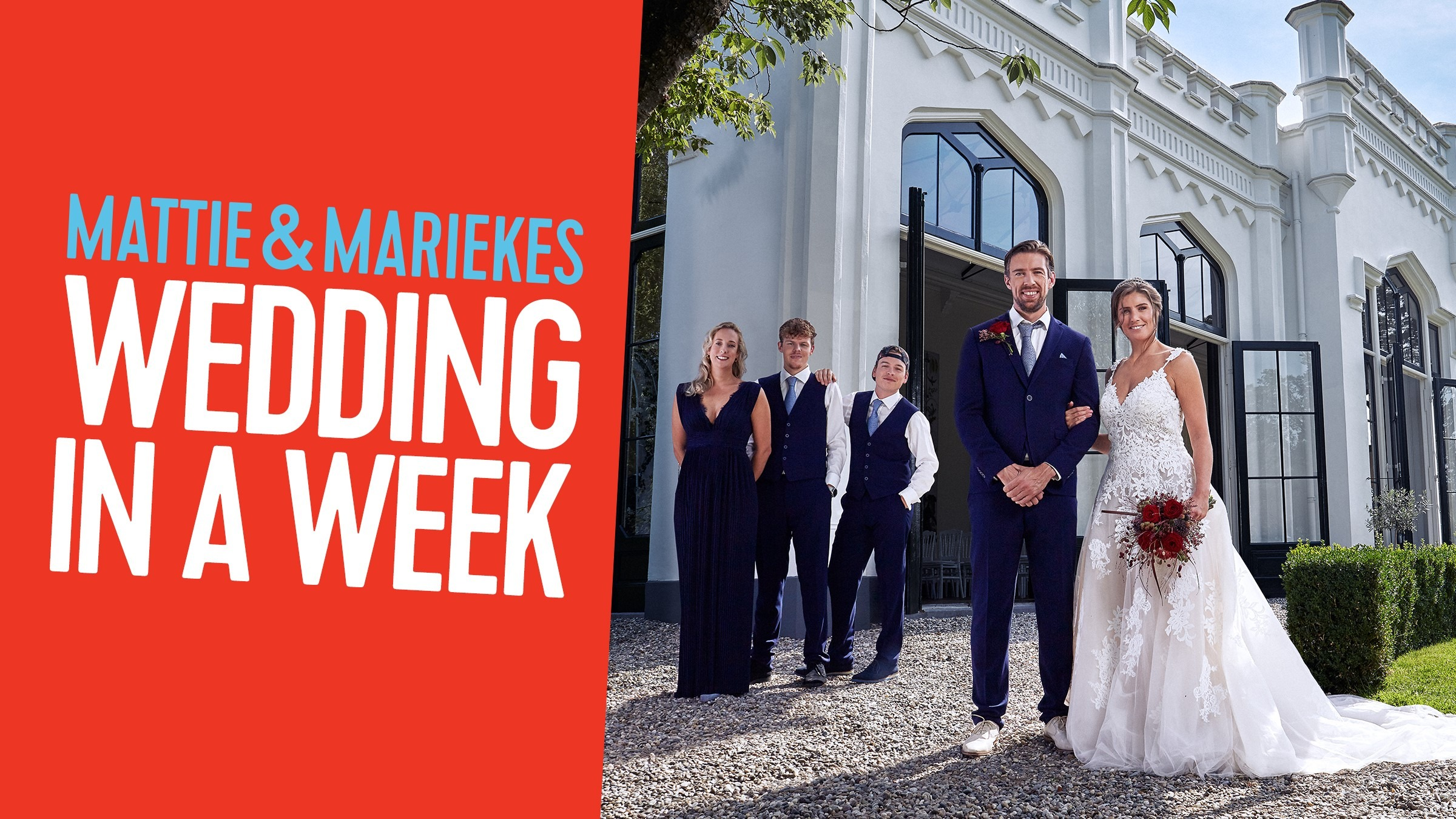 Qmusic mattie mariekes wedding in a week