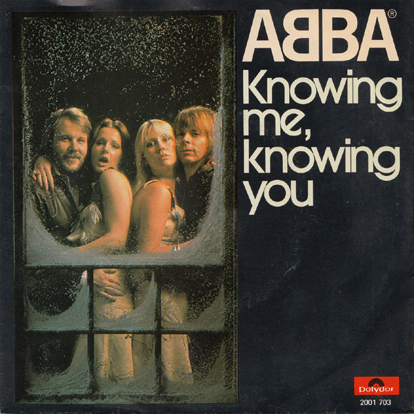 Abba knowing me knowing you polydor 2