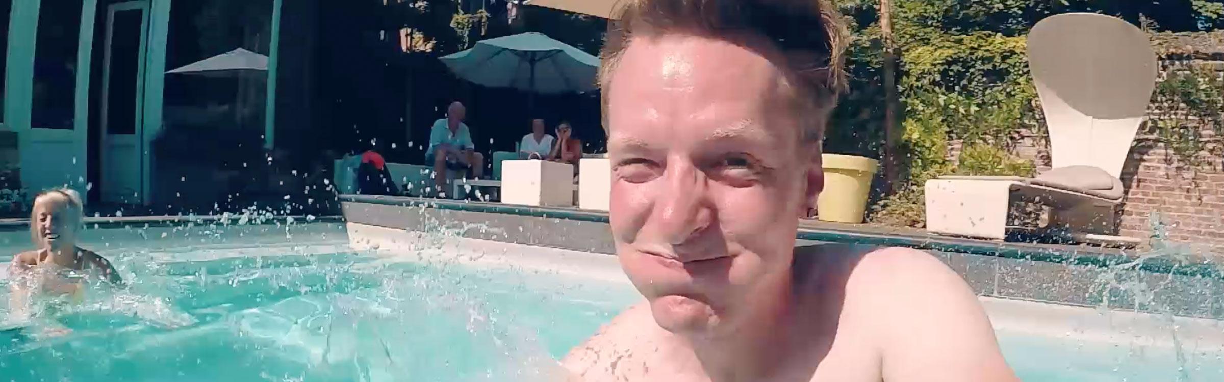 Zwembadheader