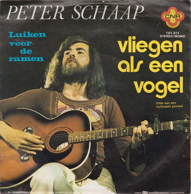 Peter schaap vliegen als een vogel ode aan een luchtvaartpionier 1975