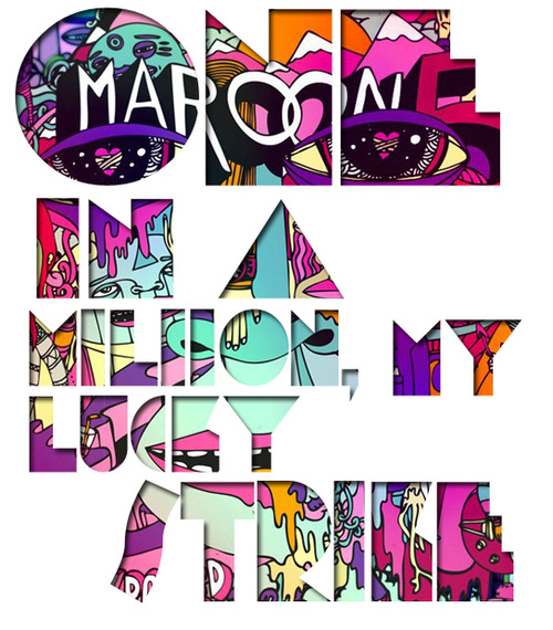 Lucky strike maroon 5