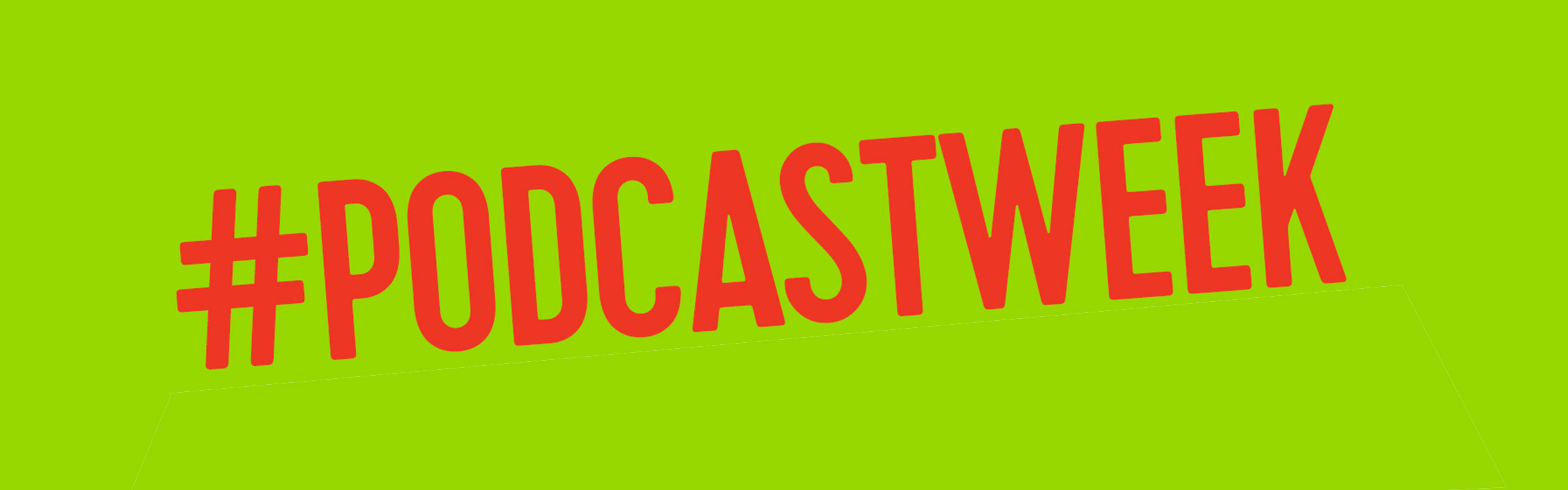 Podcastweek header