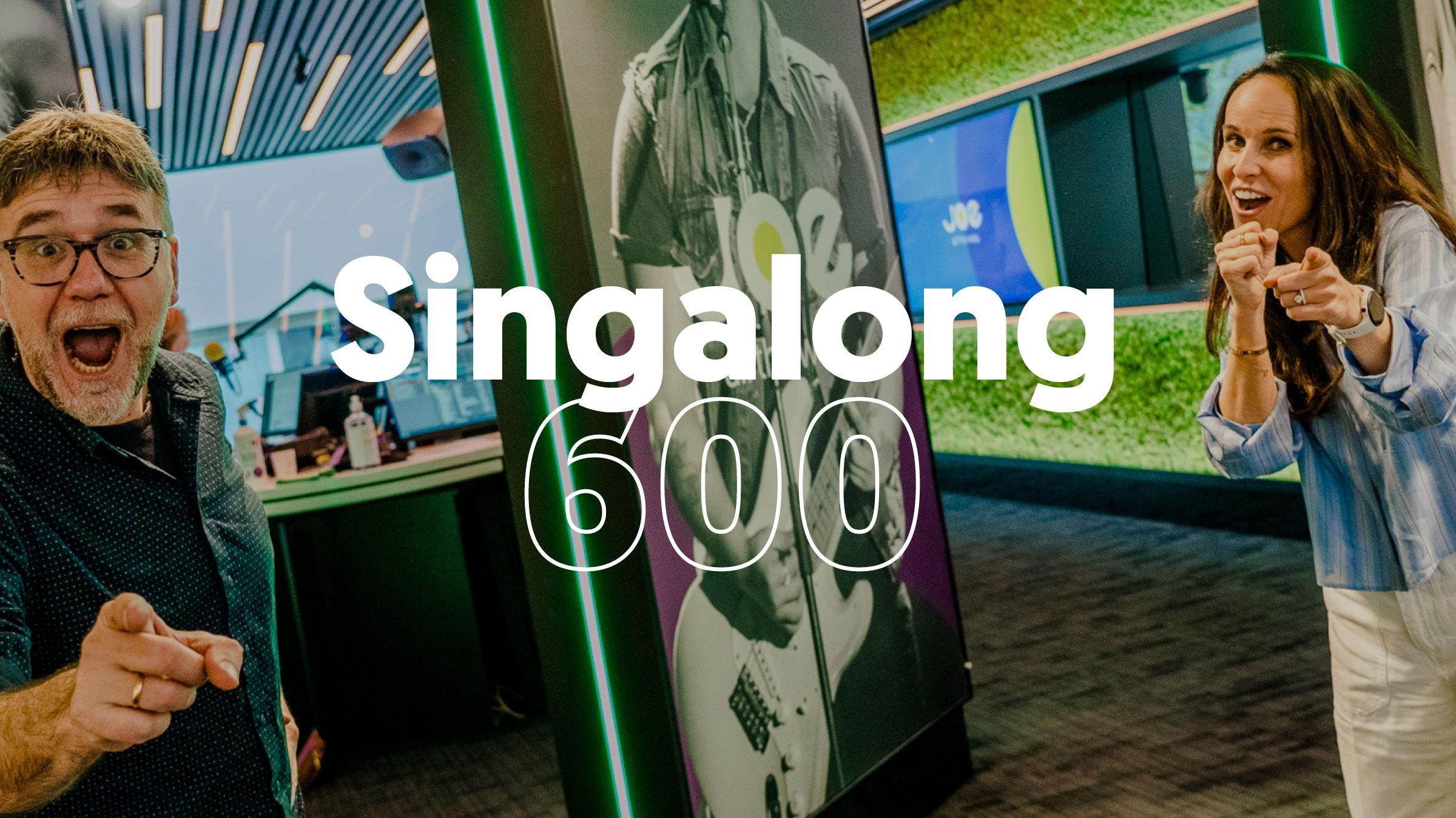 Joe homepage singalong