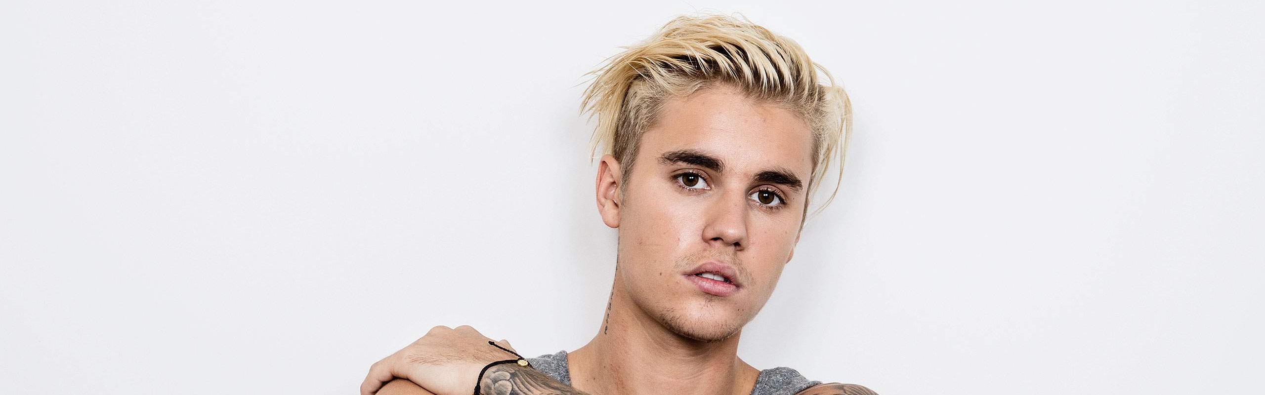 Justin bieber header