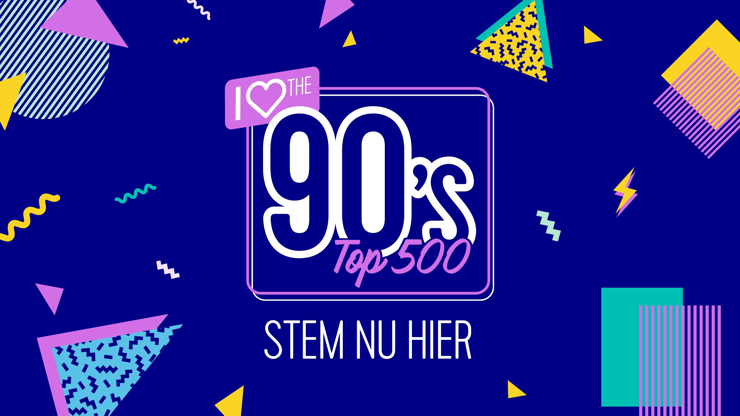 I love the 90ies top 500