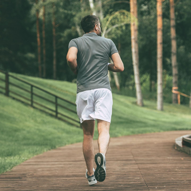 Jogger foto home