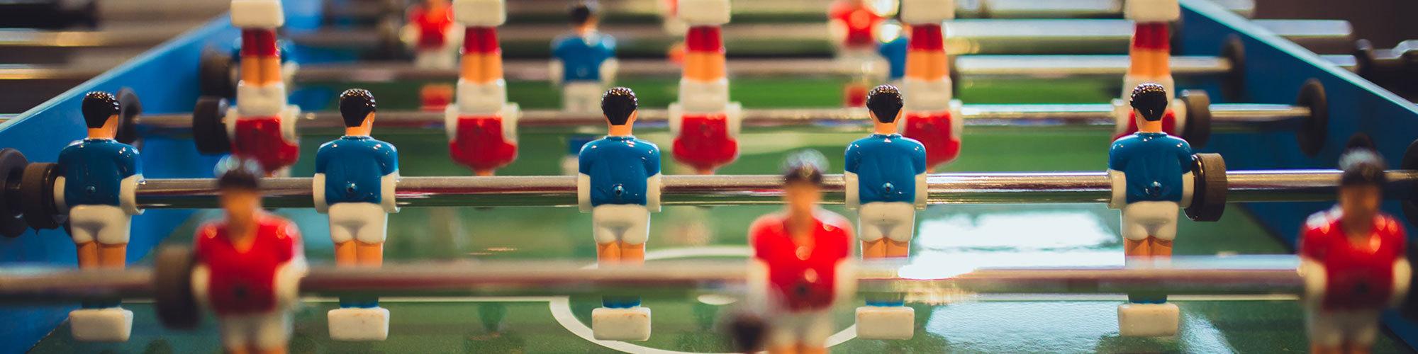 Voetbal header