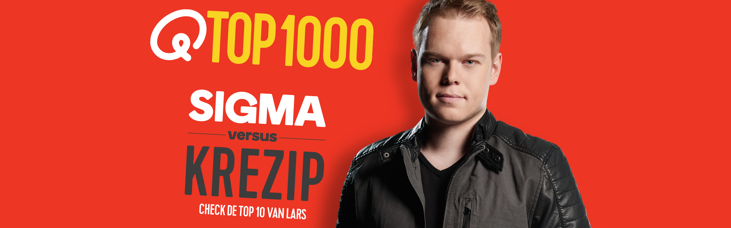 Qmusic actionheader top1000 djs lars